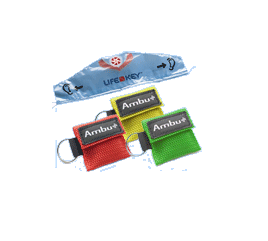 Ambu key holder with mask, 1pce