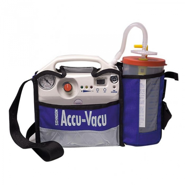Accu-vacu elec. suction pump, 1pce