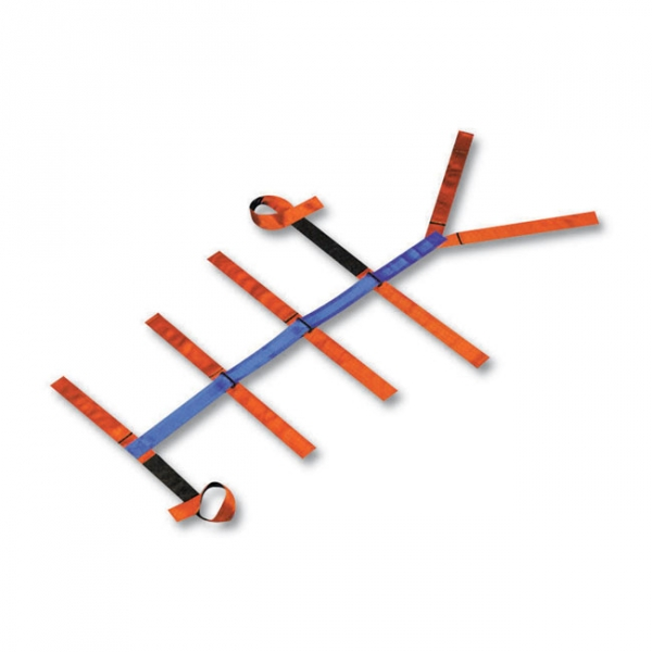 Stretcher Scoop restraint straps, 3 pieces