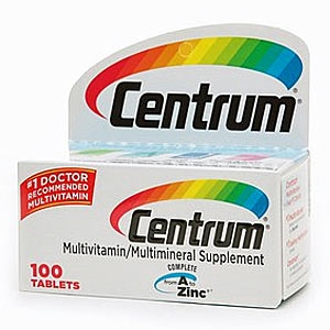 Centrum Multivitamins, 100pcs
