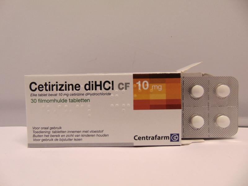 Cetirizine 10mg Tablets Pil