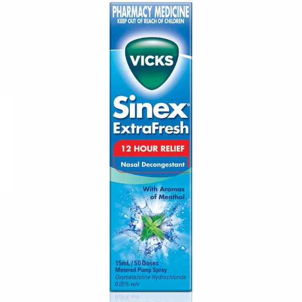 Vicks Sinex nasal pump spray UK, 1pce
