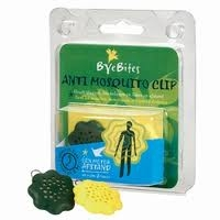 ByeBites Anti-Mosquito Clips, 2 pieces