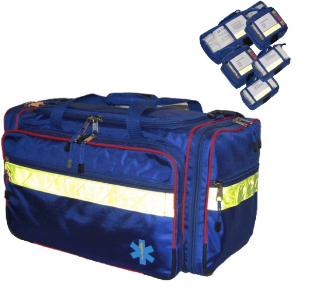 Advanced Life Support Bag Blue, 1pce