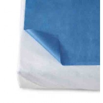 Bed sheet plastic backed, 60x90cm, 7 pieces