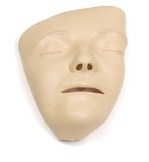 Adult Manikin Faces, Decorated, 6 pieces